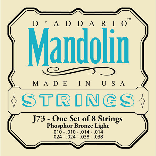 DAddario Phos Mandolin Strings LT
