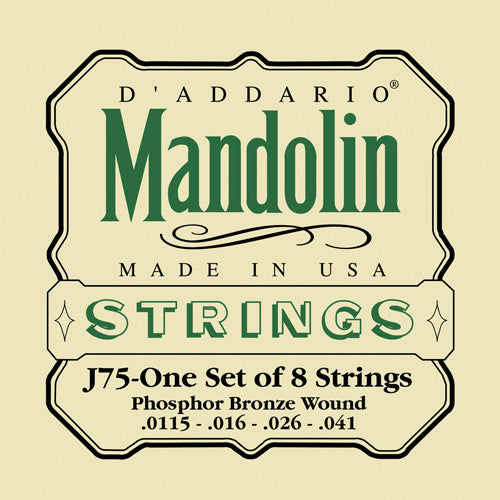 D Addario Mandolin Strings Phos Bronze Medium