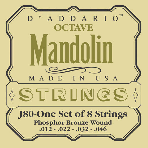 D Addario Octave Mandolin Strings