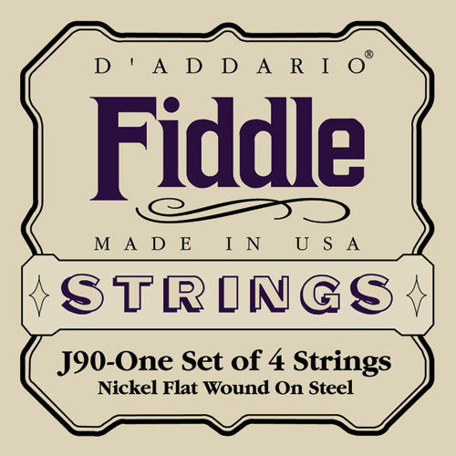 DAddario Fiddle Strings J90