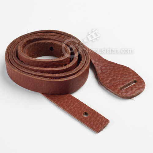 Lakota Leather Mandolin Strap Bison Rosewood