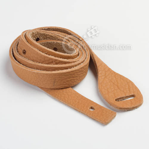 Lakota Leather Mandolin Strap Bison Spruce