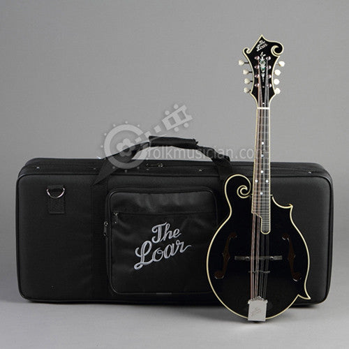 The Loar LM-600 Mandolin Cumberland Acoustic Black