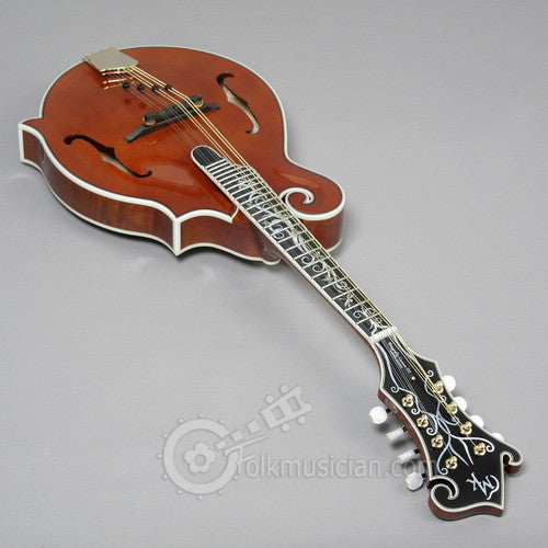 Michael Kelly Dragonfly Flame Mandolin Walnut