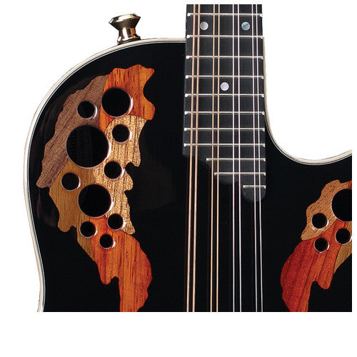 Ovation Mandolin MM68AX Black