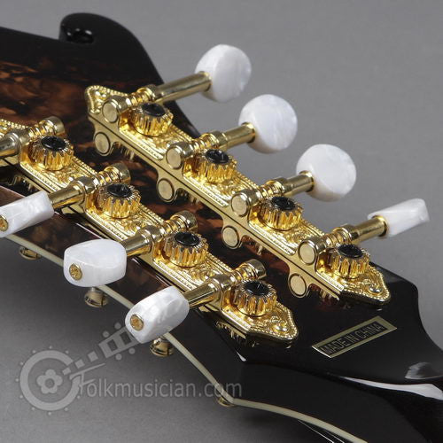Morgan Monroe Marble Finish Left Handed Mandolin