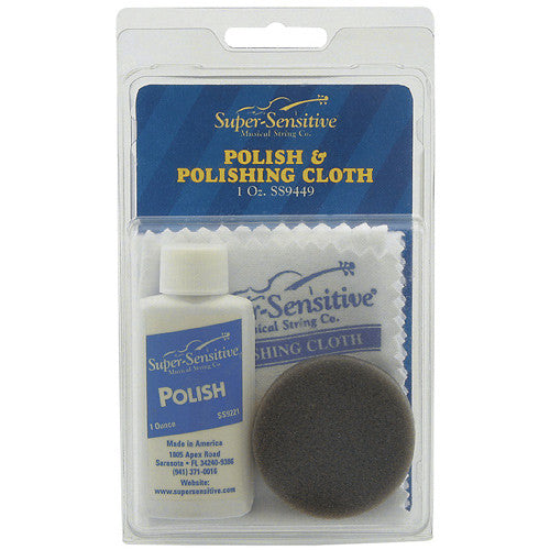 Super Sensitive Violin Polish Kit 1 oz