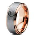 Horoscope Taurus Symbol Tungsten Ring