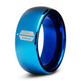 Doctor Who Time Lord Tardis Blue Tungsten Dome Cut