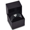 Pixelated Heart Gamer Tungsten Ring