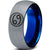 Horoscope Cancer Symbol Tungsten Ring - Zealot