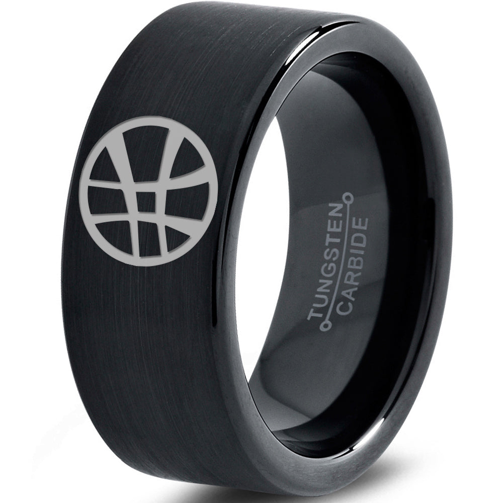 Dr. Strange Inspired Black Tungsten Ring
