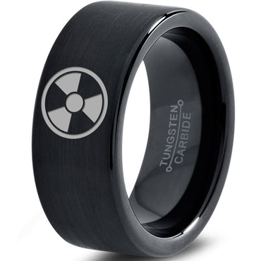 Incredible Hulk Inspired Black Tungsten Ring