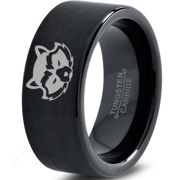 Rocket Raccoon Inspired Black Tungsten Ring