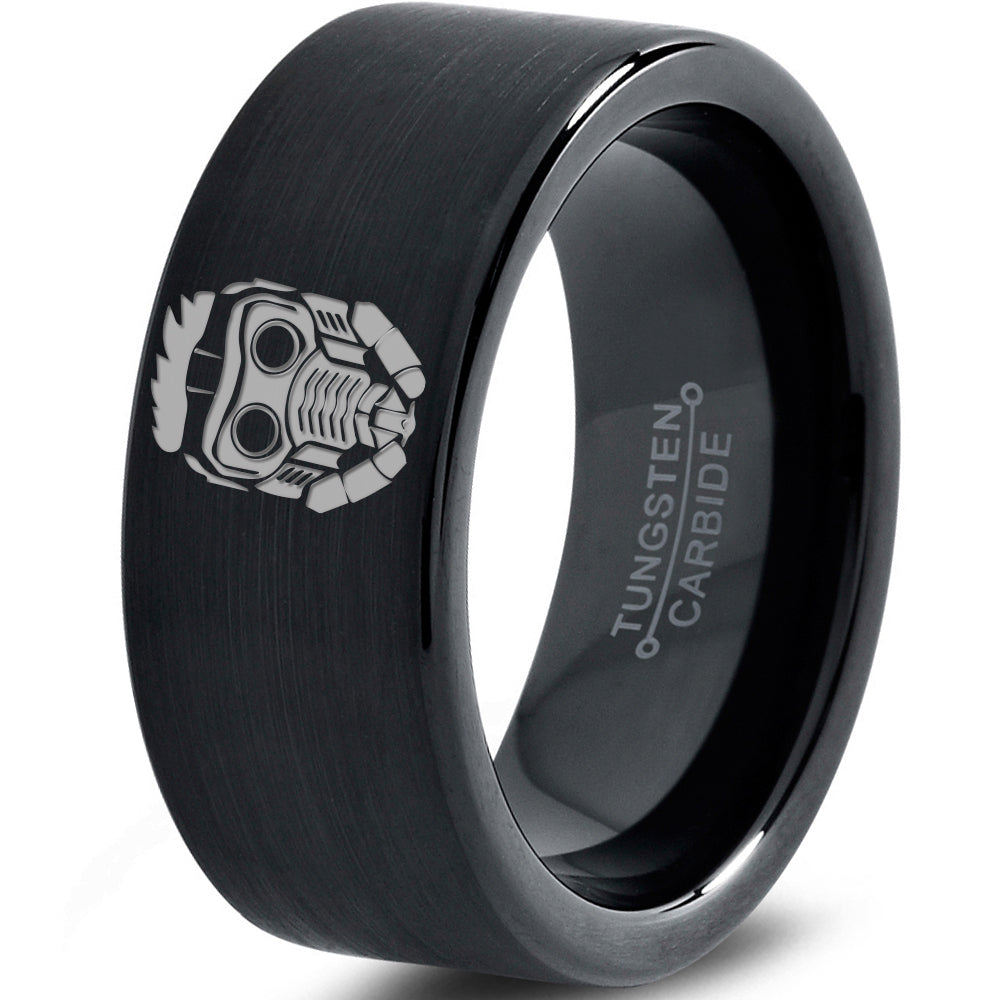 Stalord Inspired Black Tungsten Ring