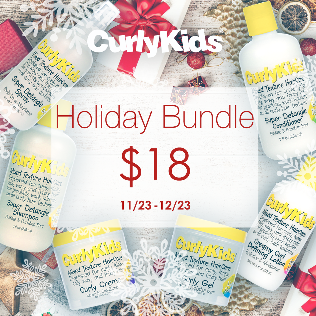 CurlyKids Holiday Bundle