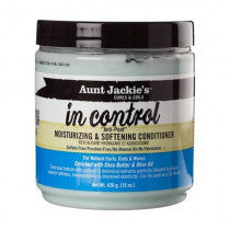 Aunt Jackies In Control Moisturizing And Softening Conditioner - Après shampoing hydratant ou Co-Wash