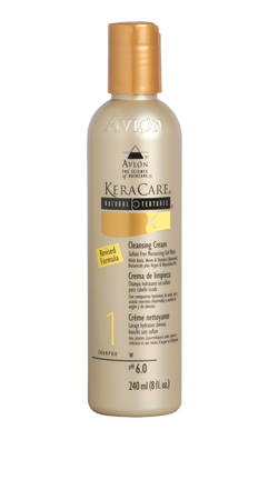 Keracare Natural Textures Cleansing Cream  - Shampooing Nettoyant Crème sans sulfate