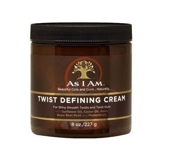 As I Am Twist Defining Cream - Crème de définition pour les twists - Sédécia Cosmetics