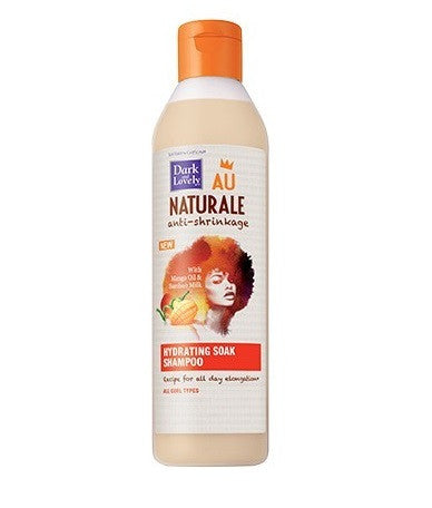 Dark And Lovely Au Naturale Anti Shrinkage Hydrating Soak Shampoo - Shampoing de définition des boucles - Sédécia Cosmetics