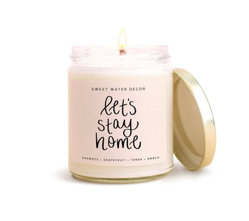 Soy Candle- Let's Stay Home
