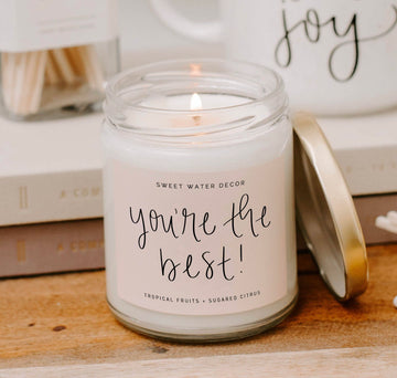 Soy Candle- You're The Best