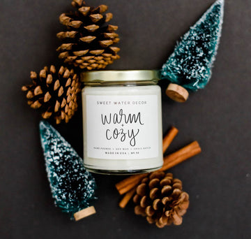 Soy Candle- Warm & Cozy