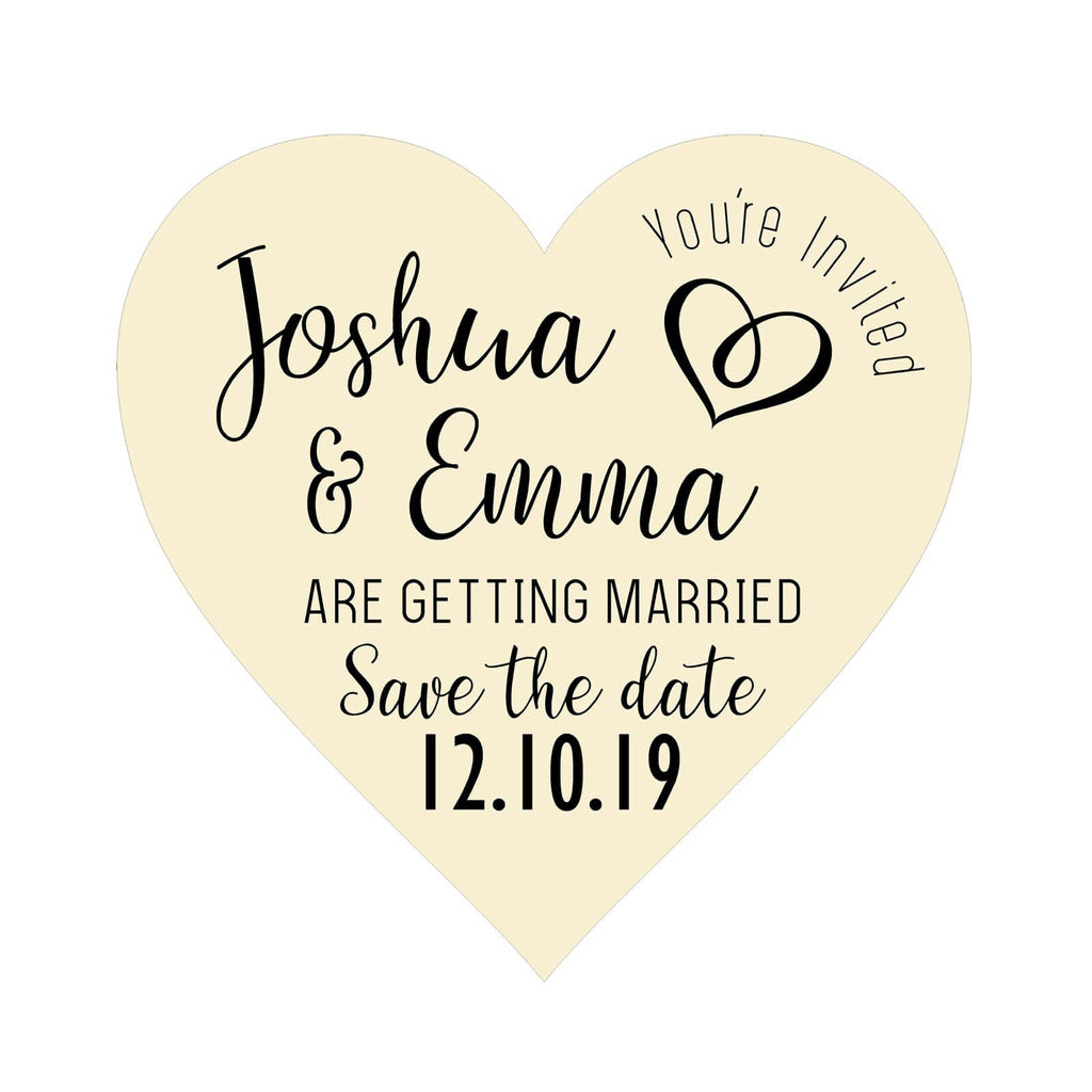 Save The Date Magnets NiVi Design