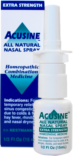 Acusine Homeopathic Nasal Spray