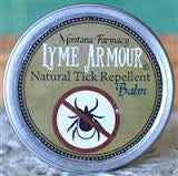 Lyme armor Natural Tick BALM formulated by Stephen Buhner pack of 12