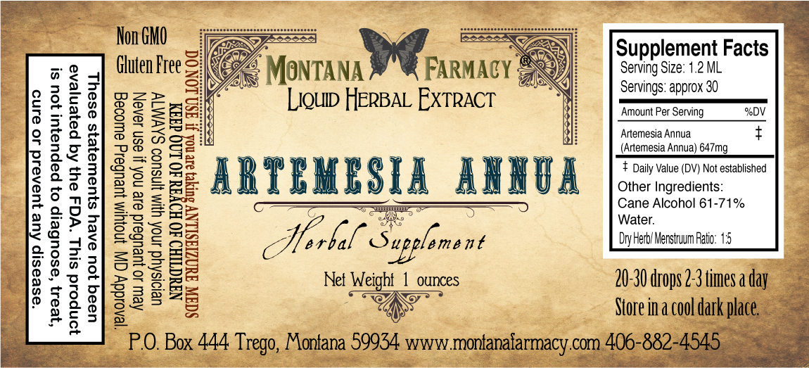 Artemesia Annua Herbal Extract Tincture Case of 12