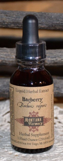 Barberry Herbal Extract Tincture Case of 12