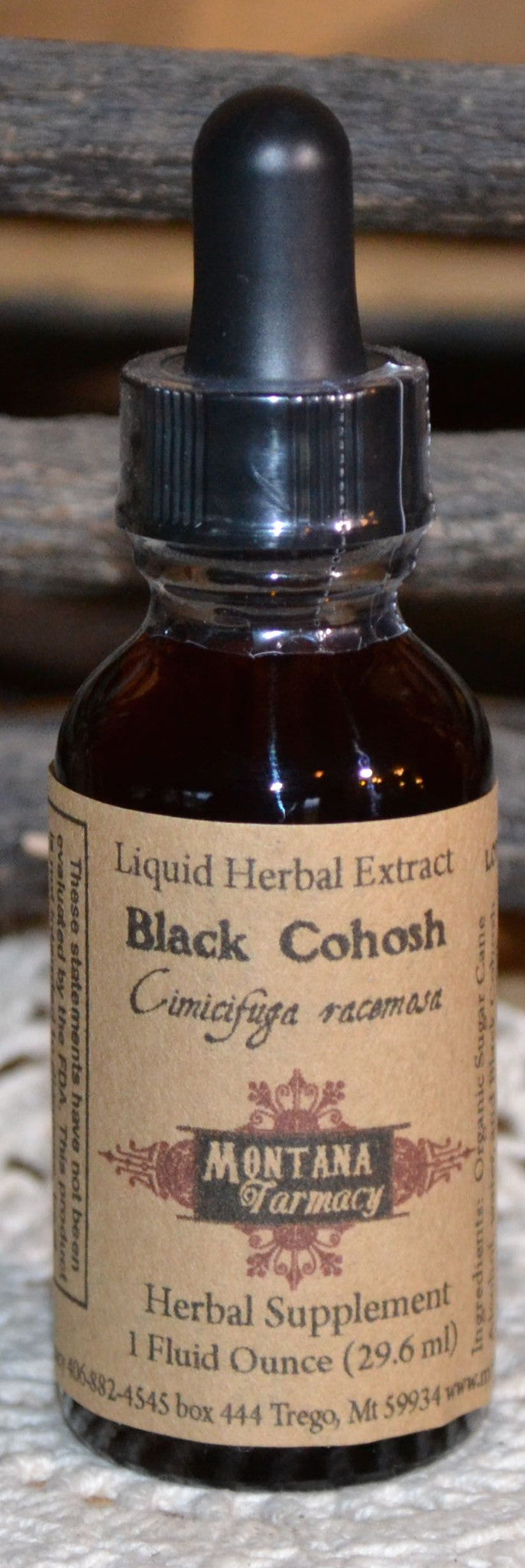 Black Cohosh  Herbal Extract Tincture Case of 12