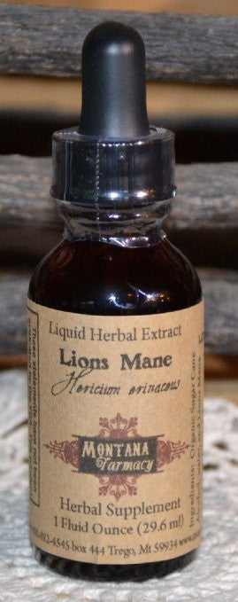 Lions Mane Natural Extract Tincture Case of 12