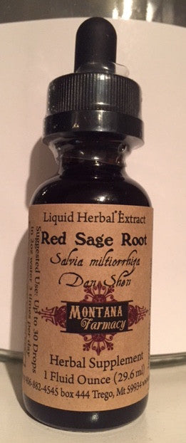 Red Sage Root Salvia miltiorrhiza Dan Shen Natural Extract Tincture Case of 12