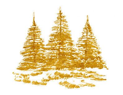 Gold Trees by EHS