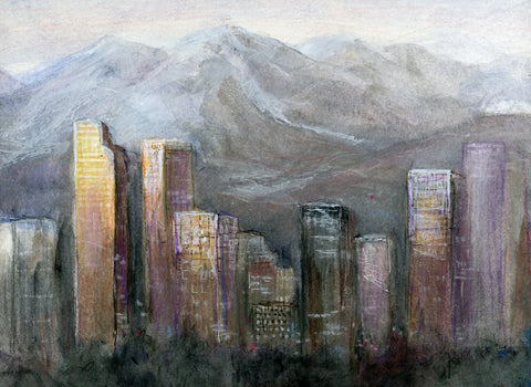 Fine Art Print: Denver Dawn 2 by CLM