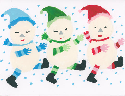 Dancing Snowmen by KKS