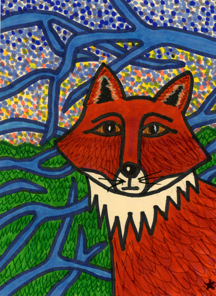Fine Art Print: Fox by NSF