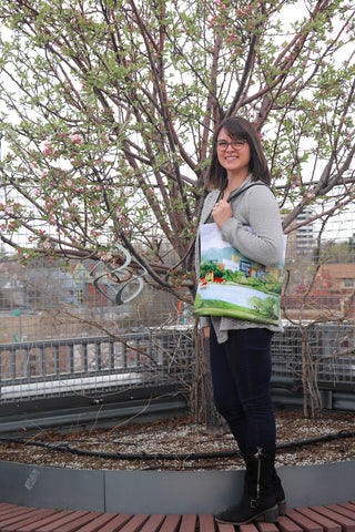 Tote Bag: A View of City Park by VEC
