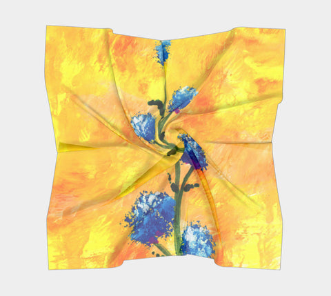 Scarf: Fire Weed by WA
