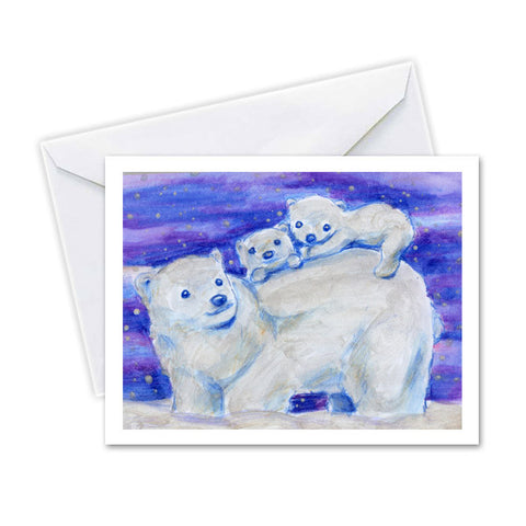 Polar Bear Family by LDT