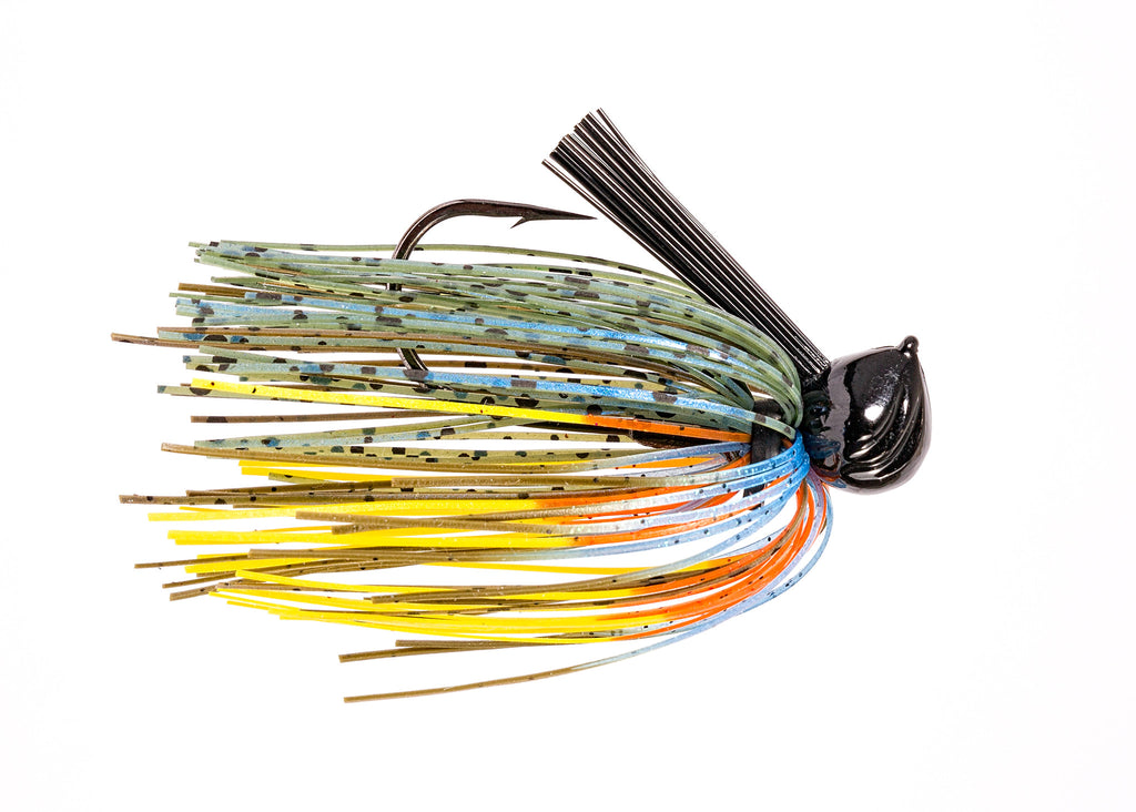 Bluegill football jig inseine fishing for Fishing with jigs