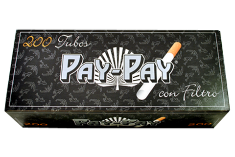 Pay-Pay Pre-Rolled Paper With Filter Tip