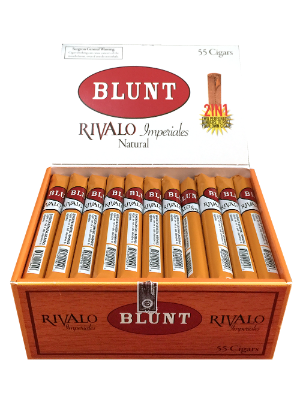 Blunt wraps perforated cigars two blunt wraps in one