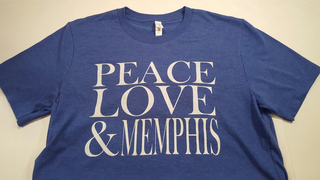 Peace, Love and Memphis T Shirt