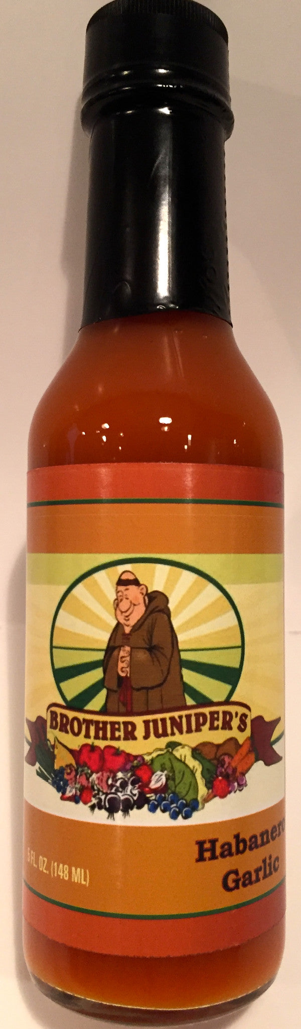 Brother Juniper's Habanero Garlic Hot Sauce