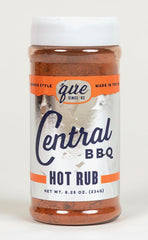 Central BBQ Hot Rub 8.25 Oz