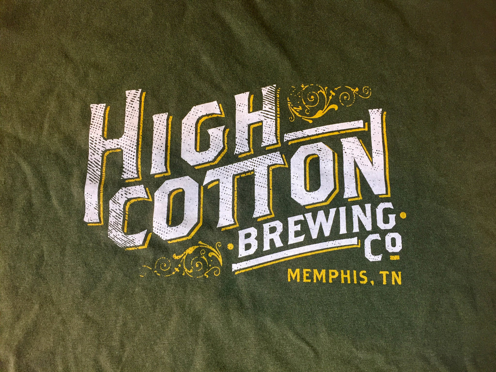 High Cotton Brewing Logo Tee