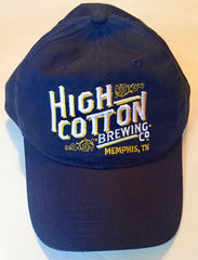 High Cotton Brewing Company Navy Blue Ball Cap
